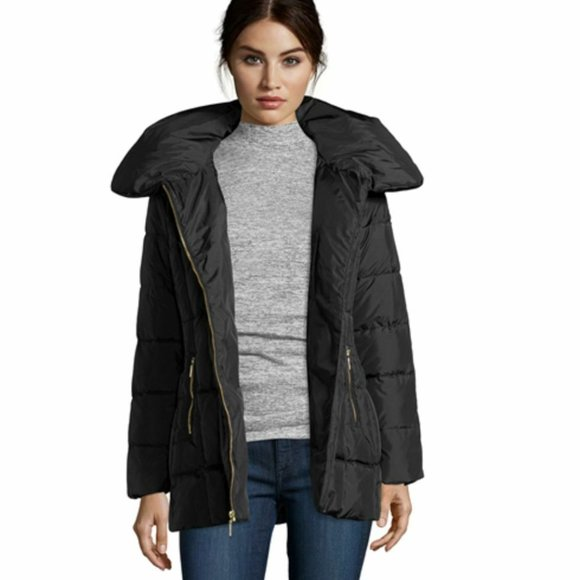 Cole Haan quilted down puffer coat